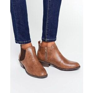 Head over Heels by Dune - Piro - Bottines Chelsea - Fauve - Fauve