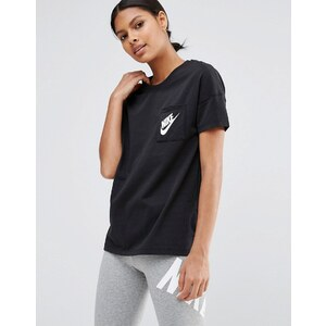 Nike - Signal - T-shirt à manches courtes - Noir