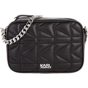 Karl Lagerfeld Sacs à Bandoulière, K/Kuilted Crossbody Bag Small Black en noir