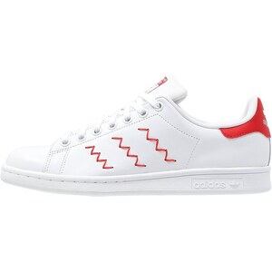 adidas Originals STAN SMITH Sneaker low blanc/rouge