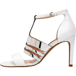 French Connection LIA High Heel Sandaletten summer white/silver