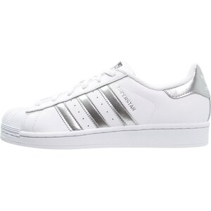 adidas Originals SUPERSTAR Sneaker low white/silver metallic/core black
