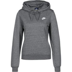 Nike Funnel-Neck W Hoodie charcoal heather/white