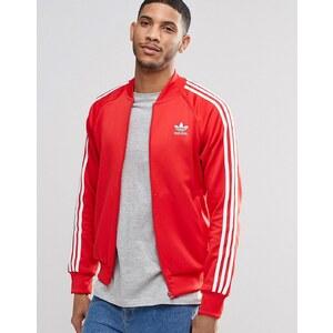 adidas Originals - Superstar AY7062 - Veste de survêtement à logo trèfle - Rouge