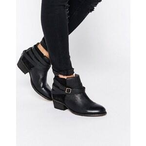 Hudson London - Horrigan - Bottines en cuir - Noir - Noir