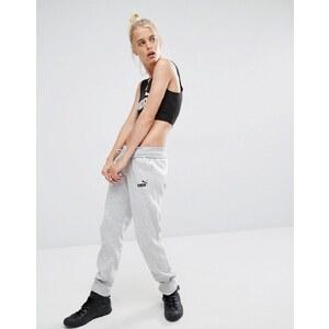 Puma - Pantalon de survêtement avec logo classique - Gris