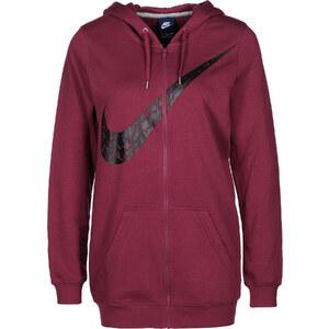 Nike W Hooded Zipper red/black