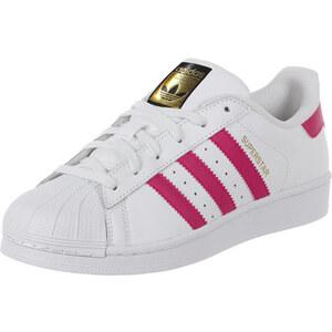 adidas Superstar Foundation J W Schuhe white/pink