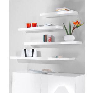 Home Collection Hängeregal Gloss (2er-Pack) in weiß von bonprix