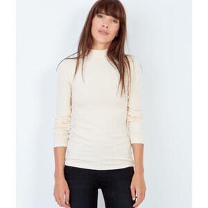 T-shirt col roulé en coton Etam