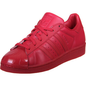 adidas Superstar Glossy Toe W chaussures ray red/black