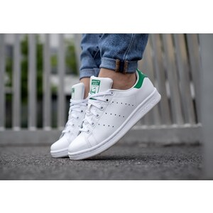 adidas Stan Smith J W chaussures white/white/green