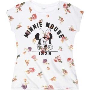 Disney Minnie T-Shirt weiß in Größe S für Damen aus 100% Baumwolle