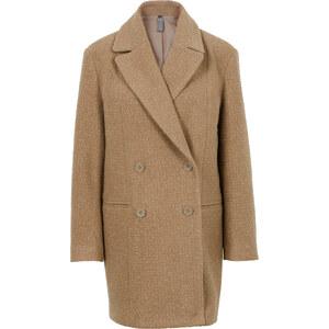 RAINBOW Manteau boyfriend marron manches longues femme - bonprix