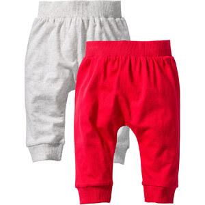 bpc bonprix collection Lot de 2 pantalons bébé en coton bio blanc enfant - bonprix