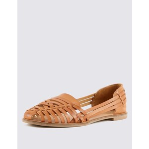 Marks and Spencer Sandalen-Slipper mit Gitterdesign