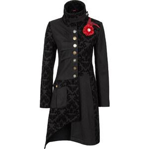 RAINBOW Manteau noir manches longues femme - bonprix