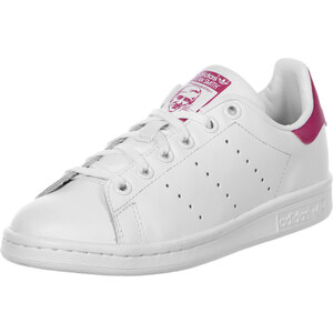 adidas Stan Smith J W chaussures white/white/pink