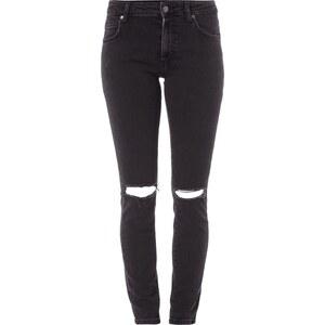 Dr. Denim Skinny Fit 5-Pocket-Jeans im Destroyed Look