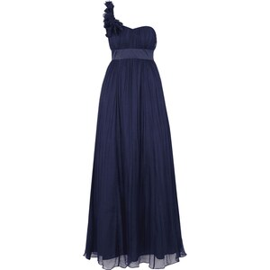 Fever London One-Shoulder-Abendkleid aus reiner Seide