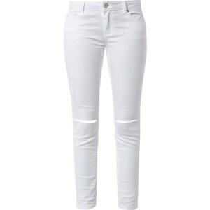 REVIEW Skinny Fit Coloured Jeans mit Knieschlitzen
