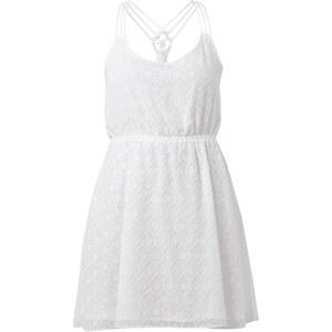 REVIEW Kleid mit strukturiertem Wabenmuster