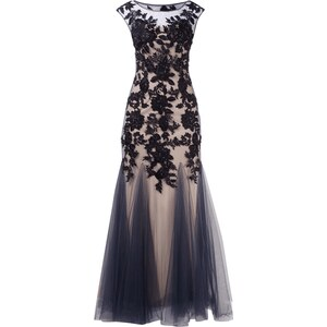 Mascara Abendkleid im Meerjungfrau-Stil aus Mesh