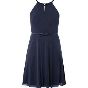 Esprit Collection Kleid aus Mesh mit Taillengürtel