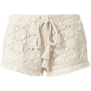 REVIEW Shorts aus Häkelspitze mit elastischem Saum