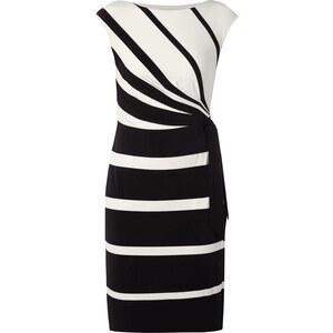 Lauren Ralph Lauren Kleid mit Streifenmuster und Schnürung