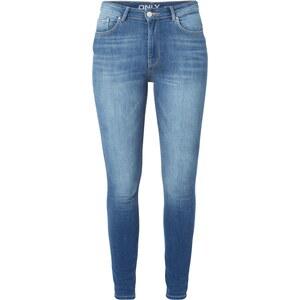 Only Stone Washed Skinny Fit Jeans mit Kontrastnähten