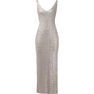 Lauren Ralph Lauren Abendkleid aus Mesh mit Pailletten-Besatz