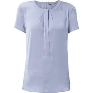s.Oliver Premium Blusenshirt mit gelegten Falten