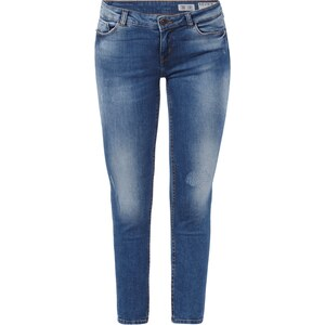 REVIEW Minnie Skinny Jeans im Used Look