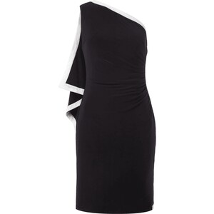Lauren Ralph Lauren Kleid mit locker fallender Vorderseite
