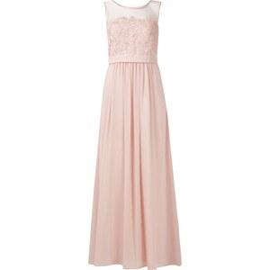 Mariposa Abendkleid mit Spitzenbesatz