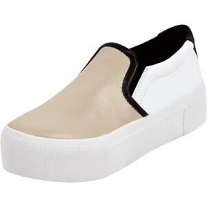 DKNY Slip On Sneaker aus echtem Schafleder