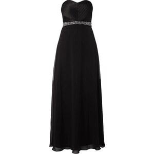Unique Abendkleid im Empire-Stil mit Zierperlenbesatz