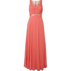 Jora Collection Abendkleid mit Ziersteinbesatz und Stola