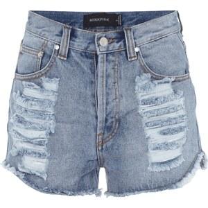 Minkpink High Waist Hotpants im Destroyed Look