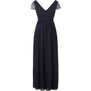 Young Couture Abendkleid aus Chiffon mit Ärmeln aus Spitze