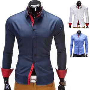Chemise Ombre avec accents de couleurs