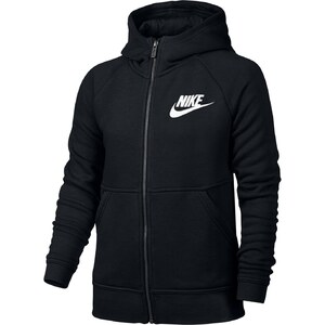 Nike G NSW MDRN HOODIE FZ GFX - Sweat à capuche - noir