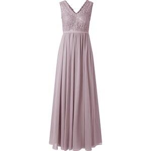 Mariposa Abendkleid mit Pailletten-Besatz