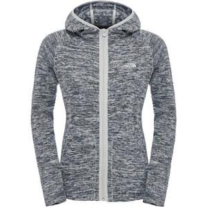 The North Face Nikster W sweat zippé à capuche high rise grey