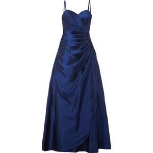 Luxuar Abendkleid mit gelegten Falten