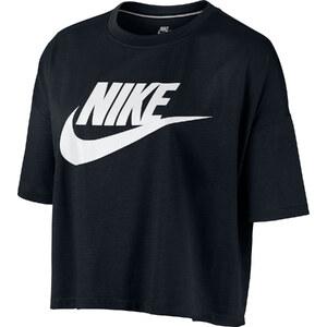 Nike Signal Crop W Top black/white