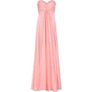 Luxuar Abendkleid im Empire-Stil mit Ziersteinen