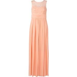 Mariposa Abendkleid mit Zierperlenbesatz