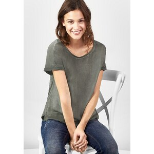 Street One Washed-Look Shirt Gianna